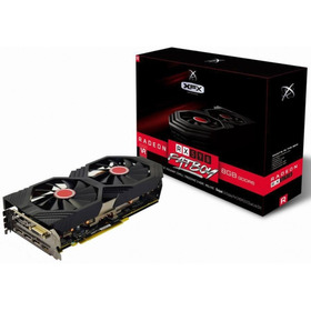 Placa De Vídeo Amd Radeon Rx 590 8gb Xfx Fatboy Rx-590p8dfd6