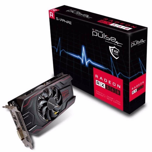 Placa De Video Ati Amd Radeon Rx 560 4gb Ddr5 Sapphire Pulse