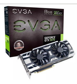 Placa De Vídeo Evga Gtx 1070 8gb Gaming Icx 08g-p4-6571-kr