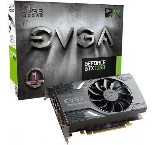 placa de video evga nvidia gtx 1060 gaming 3gb gddr5