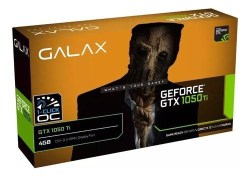 placa de vídeo galax nvidia geforce gtx 1050 ti 4gb ddr5