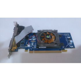 Placa De Video Geforce-8400gs 256mb Semi Nova Com Cd