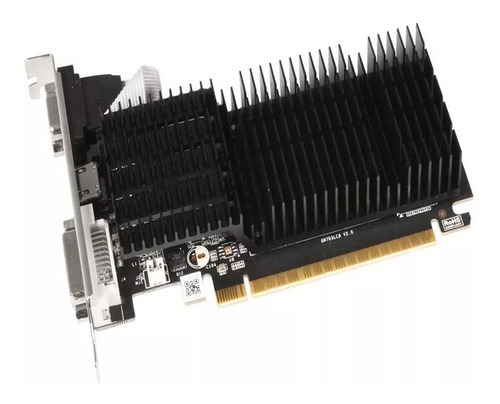 placa de vídeo geforce gt 710 passive 1gb - galax