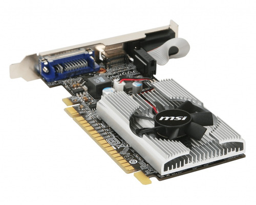 placa de vídeo geforce gt210 1gb ddr3 64bits com nota