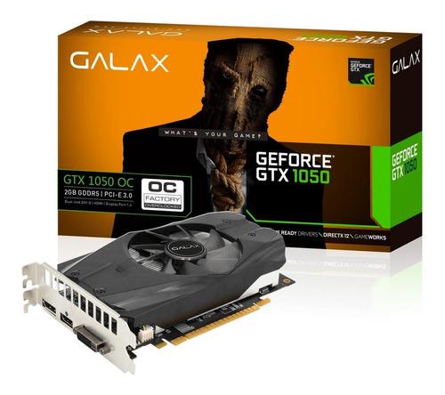 placa de vídeo geforce gtx 1050 oc 2gb - galax 12x sem juros