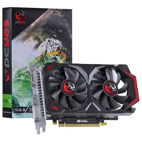 placa de video geforce gtx 550 ti 1gb gddr5 128 bits nvidia