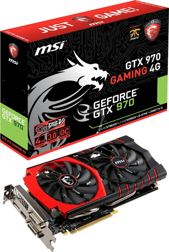 placa de video geforce gtx 980 gaming 4g msi oc edition