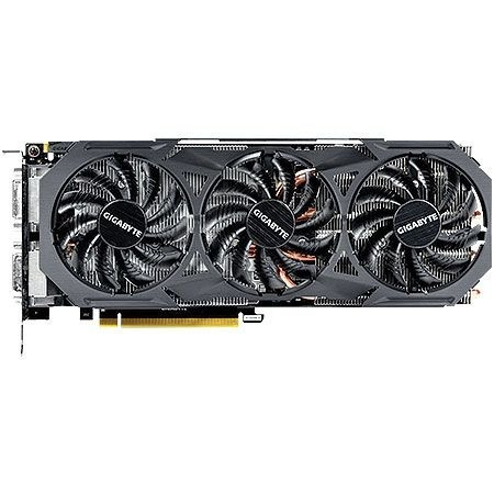 placa de vídeo geforce gtx 980ti oc windforce 6gb gigabyte