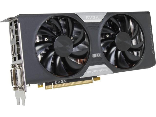 EVGA GeForce GTX 760 FTW Video Last
