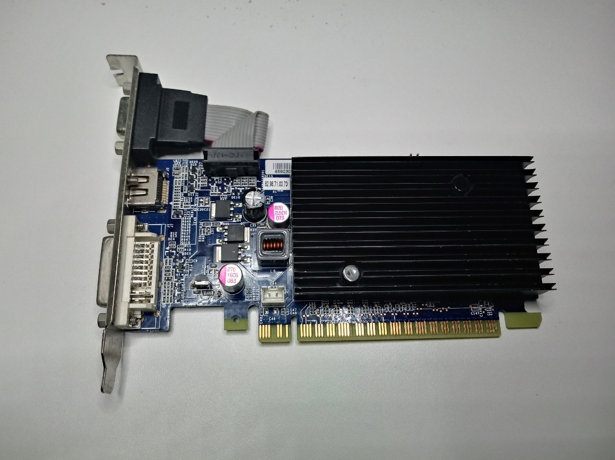 ECS NS8400GSC-256QZ-H NVIDIA Graphics 64 Bit