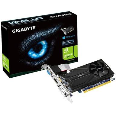 placa de video gigabyte gegorce gt640 1gb. ddr5 pci ex. 2.0