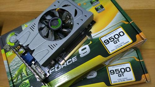 placa de vídeo gt 9500 - 5 peças  *** defeito ***