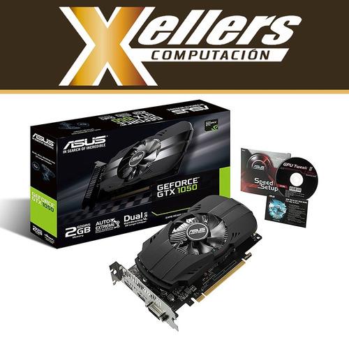 placa de video gtx 1050 2gb ddr5 asus phoenix cuotas xellers