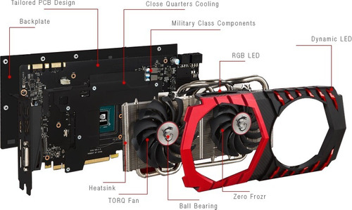 placa de video gtx 1060 6gb msi gaming x ¡perfecta!