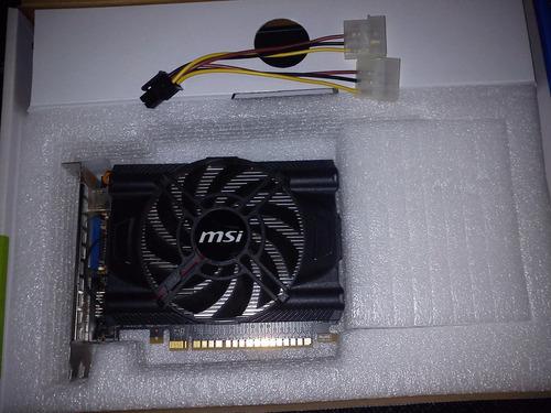placa de vídeo gtx 650 1gb gddr5 pci-e 3.0 msi