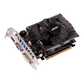 Placa De Vídeo Msi Geforce Gt730 2gb Ddr3 Pci-express 128bit