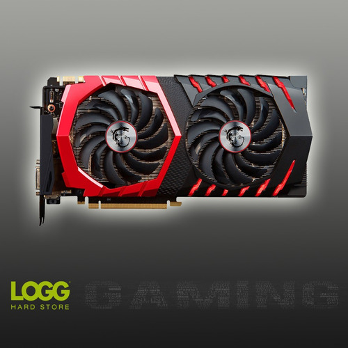 placa de video msi geforce gtx 1060 gaming x 6gb