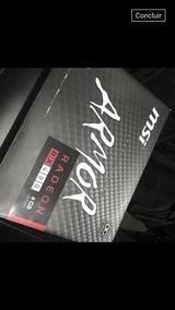 Radeon Rx 480 4gb - Placas de Vídeo 4 GB PCI Express [Melhor
