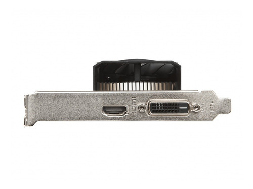 placa de video msi rx 550 2gt oc 2 cooler radeon low profile