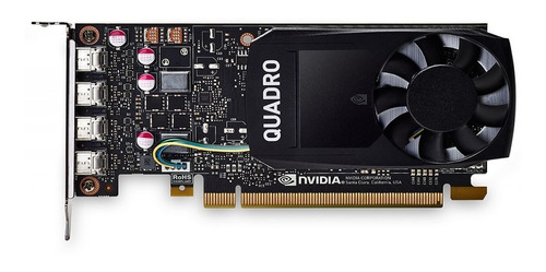 placa de video nvidia 4gb pny quadro p1000 ddr5 gamer diseño