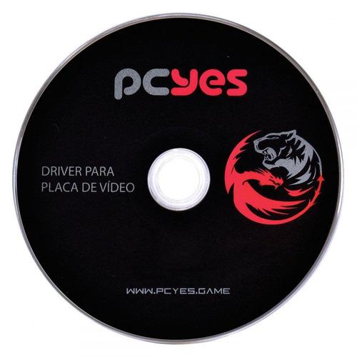 placa de vídeo nvidia geforce 9500 gt 1gb ddr3 pcyes