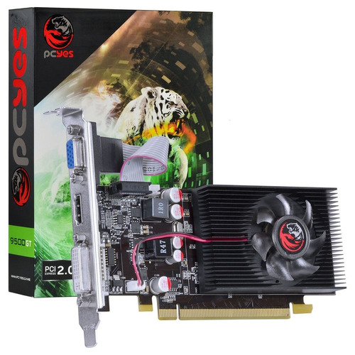 placa de video nvidia geforce 9500gt 1gb ddr3 128 bits pcyes