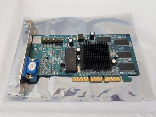 placa de video nvidia geforce mx-400 vga 64mb agp