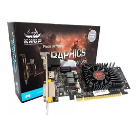 Placa De Vídeo Nvidia Knup Geforce 200 Series 210 Kp-gt210 1gb