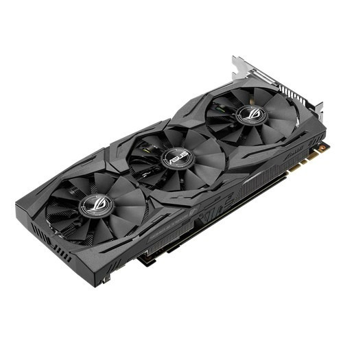 placa de video pci-e 8gb gtx 1080 asus rog strix oc