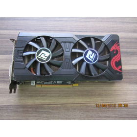 Placa De Vídeo Rx 570 4gb Gddr5 Powercolor Red Dragon Radeon