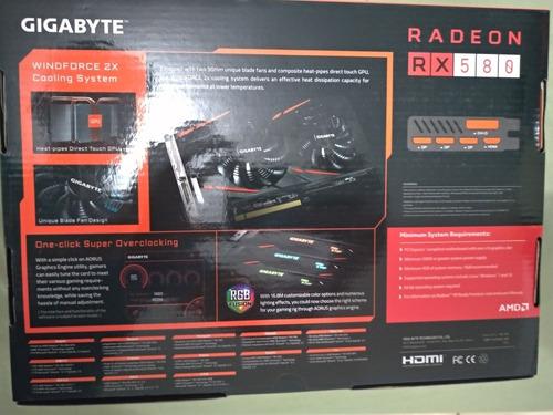 placa de vídeo rx 580 8gb