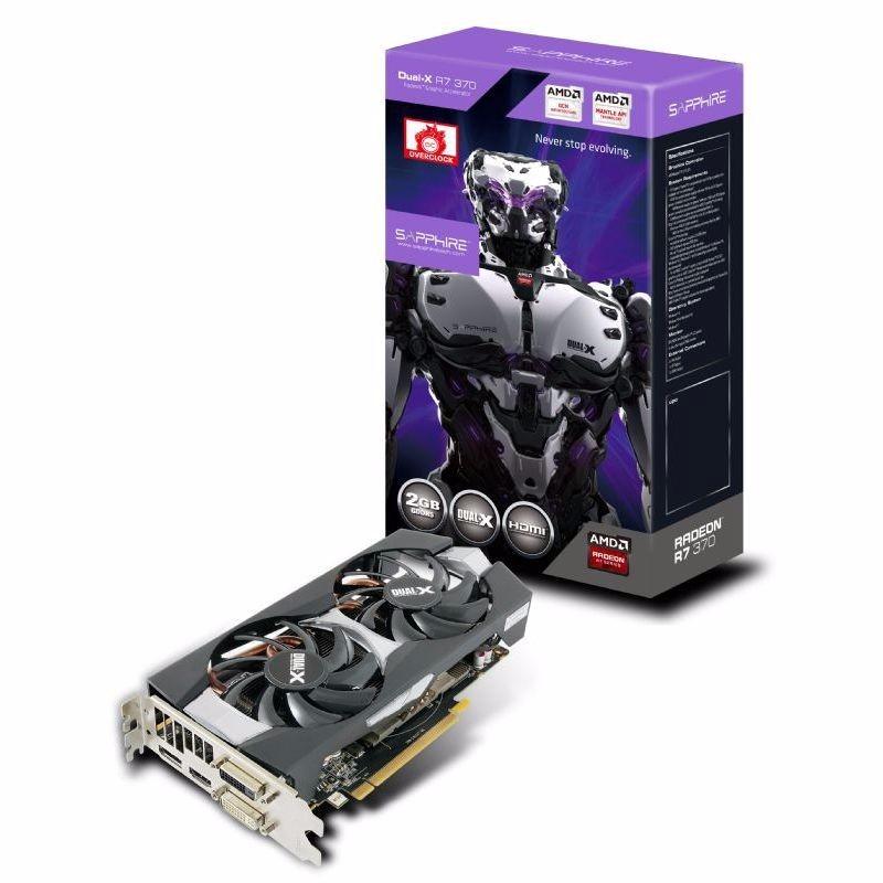 Placa De Video Safira Amd Radeon R9 270x 4gb Ddr5 With Boost