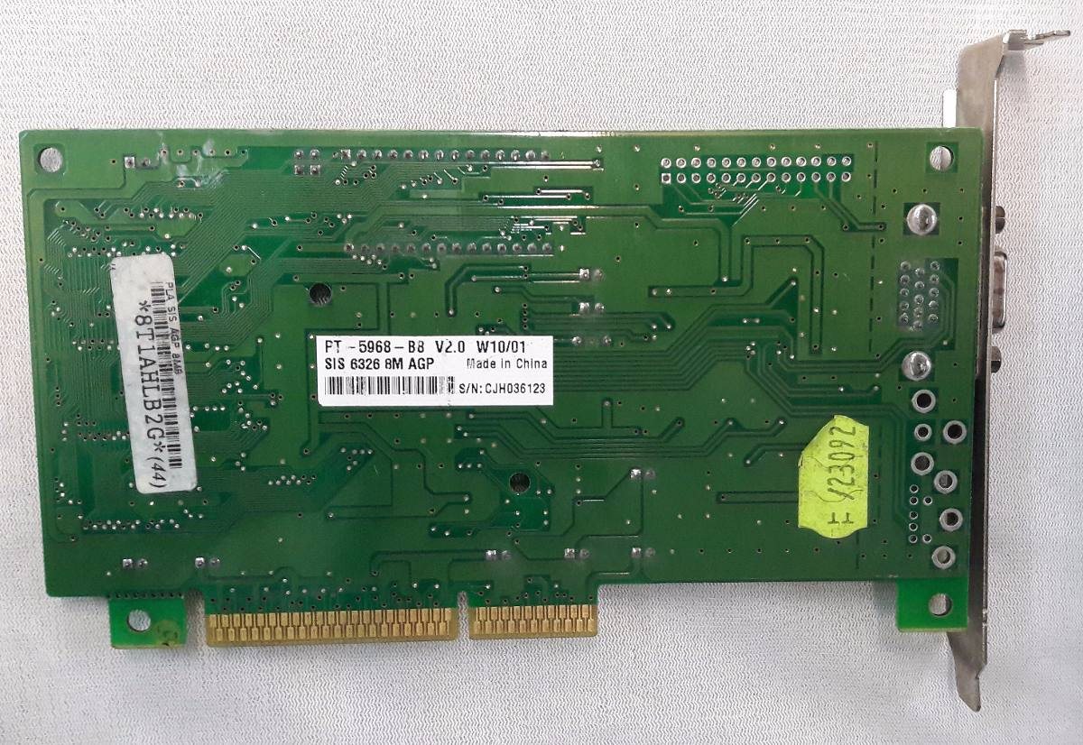 SIS 6326 VGA DRIVERS FOR MAC