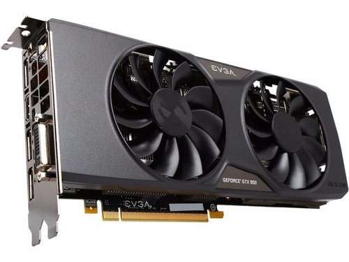 placa de video vga evga geforce gtx 950 sc+ 2gb gddr5