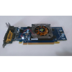 Placa De Vídeo Zotac Geforce-8400gs 256mb 64bits Ddr2