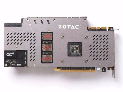 placa de video zotac geforce gtx 980 amp! omega zt-90202-10p