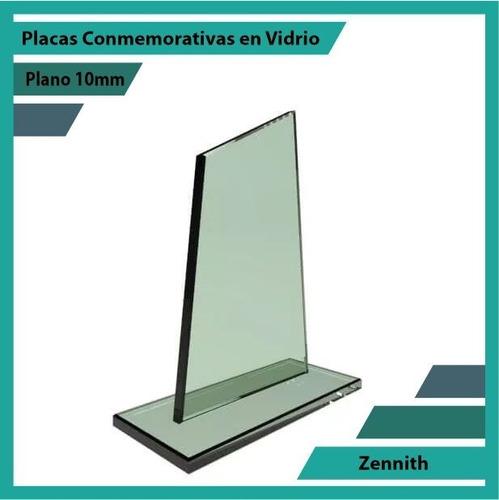 placa de vidrio referencia zennith pulido plano 10mm