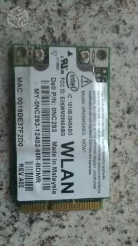 placa de wifi wireless intel wm3945abg