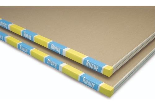 placa de yeso knauf 12,5 mm 1,20x2,40 mts igual durlock