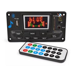 Placa Decodificador Mp3 Led /usb/sd/bluetooth/fm 12v-top