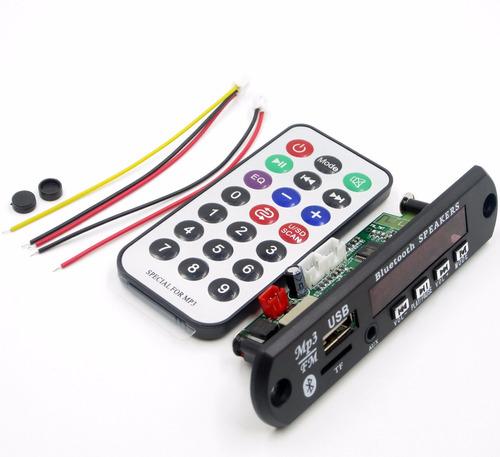 placa decodificador usb mp3 bluetooth frete gratis + amp 30w