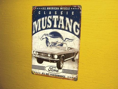placa decoração carros antigos retro garagem fusca kombi