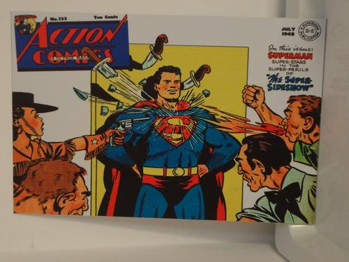 placa decorativa em ps 20x30! super heróis vintage!