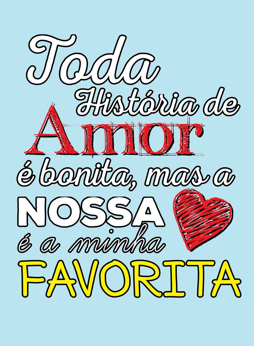 Placa Decorativa Frase Toda História De Amor é Bonita Mas R 9
