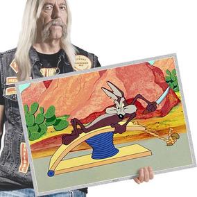 46156437de0e95 Placa Decorativa Looney Tunes - Papaléguas 02 A2