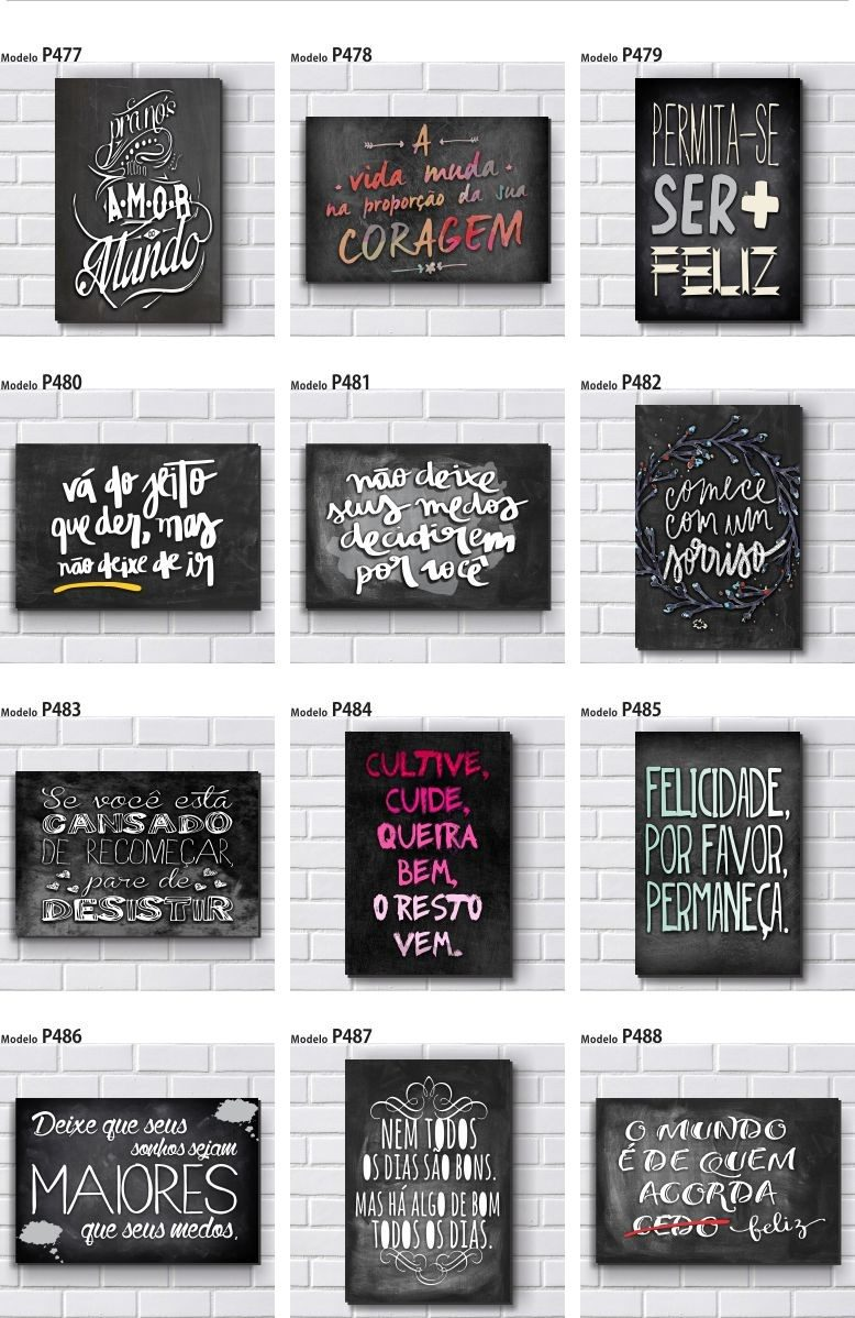 Placa decorativa mdf 20x30cm frases motivacionais r 15 90 em mercado livre - Placas pared decorativas ...