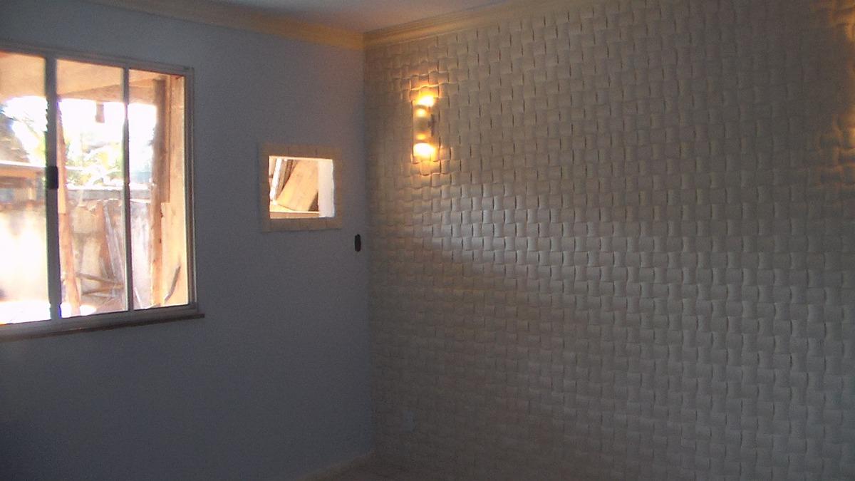 Placa decorativa para revestimento de paredes r 3 00 em - Placas decorativas para pared interior ...
