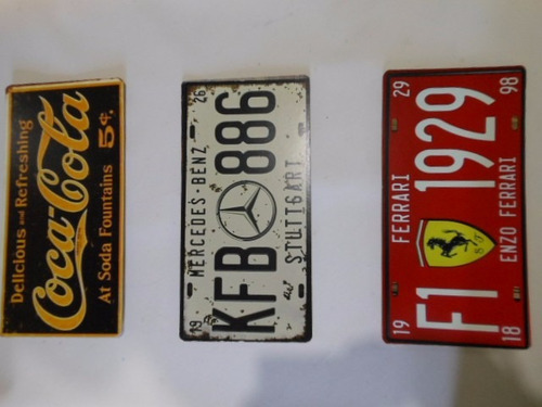 placa decorativa  retrô réplica automóveis antigos vintage