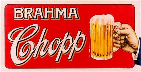 placa decorativa(12318) bebida cerveja bar brahma chopp