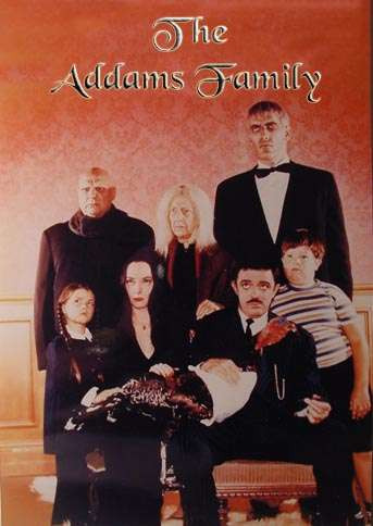 placa decorativa(15430) seriado the addams family